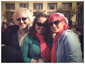 Me in January of 2010, on the left, with Julie and Destiny of New Wave Feminists at the Dallas March for Life. Okay, that's a lie. This was 2011. But I was really fat in 2010 so I'm not gonna use those photos. Just pretend this was 2010.
