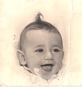 Ron DiCianni as a baby. (Photo credit: www.formedyou.com)