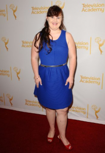 Jamie Brewer (photo from her IMDb Gallery)