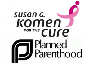 Komen and Planned Parenthood