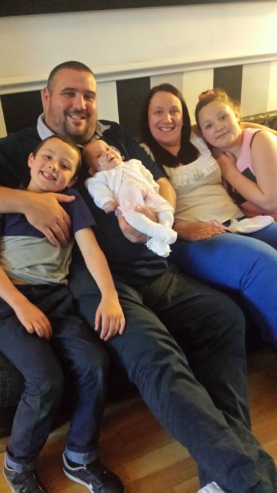 The McCrone Family. Photo via Facebook.