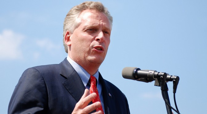 Virginia Governor goes to Planned Parenthood to veto defunding bill