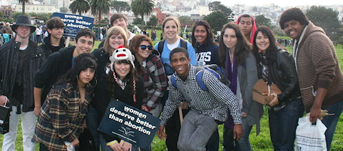 America Youth defend Unborn Child