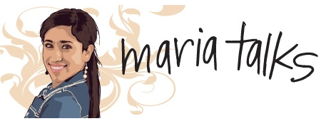 maria talks