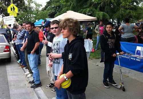 pro life youth rally