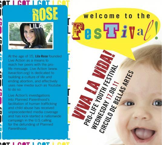 pro life festival post