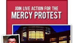 mercy protest crop