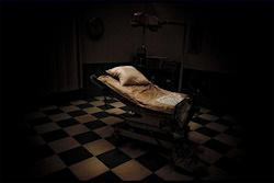 dark room scary