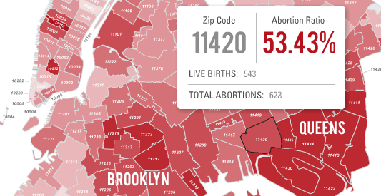 Interactive Map Of New York City.New Interactive Map Visualizes New York City S Shocking Abortion