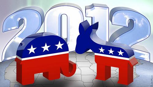 politics, democrat, republican