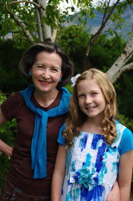 Janene Baadsgaard and daughter Alisa