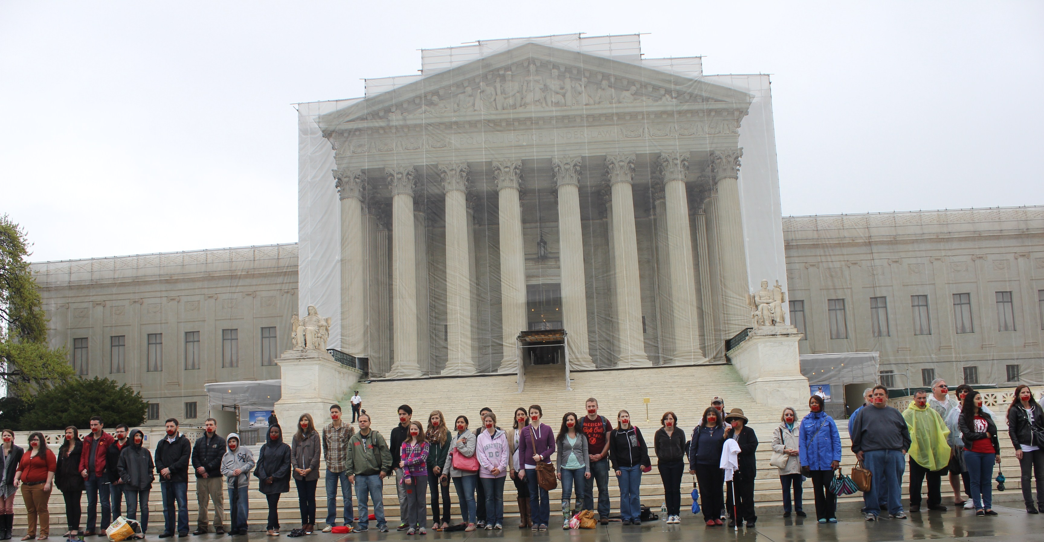Bound4Life prayer meeting outside U.S Supreme Court