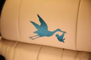 Stork Bus Logo