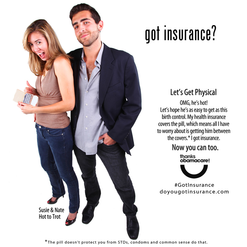 ObamaCare insurance ad
