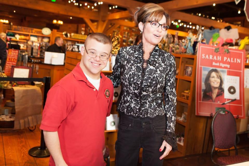 Sarah Palin Good Tidings and Great Joy