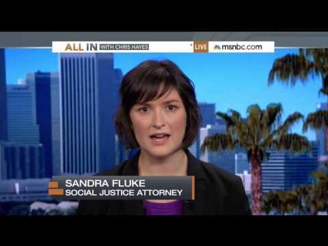 Sandra Fluke on MSNBC