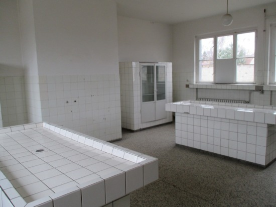 "Sachsenhausen Pathology Building—""Autopsy"" Tables (Germany)"