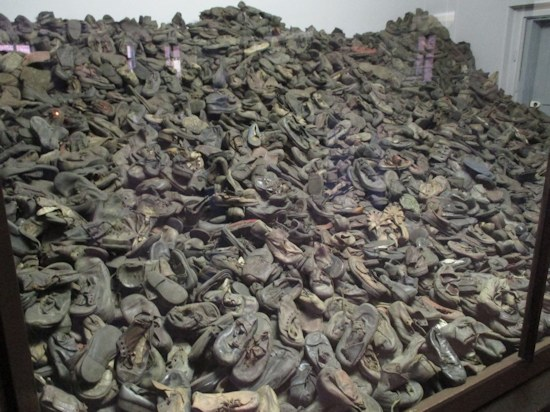 Shoes of Gas Chamber Victims at Auschwitz (Poland)