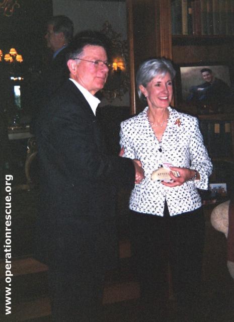 George Tiller and Kathleen Sebelius