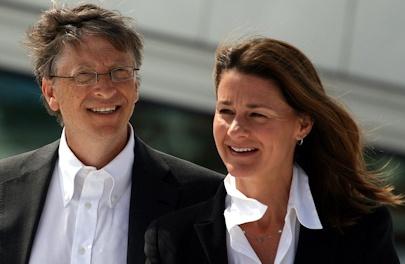 Bill and Melinda Gates. Photo by Kjetil Ree