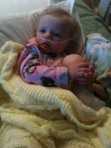 asthma, sick, child, baby, hospital