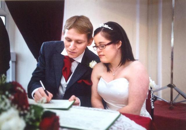Kate Owens' wedding