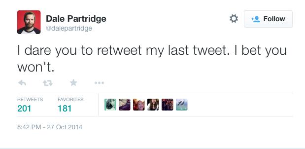 Dale Partridge tweet abortion