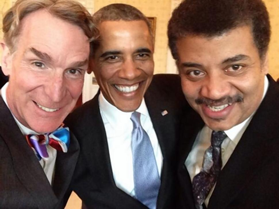 Bill Nye Obama and Tyson