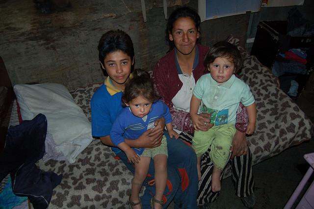 poor family, poverty