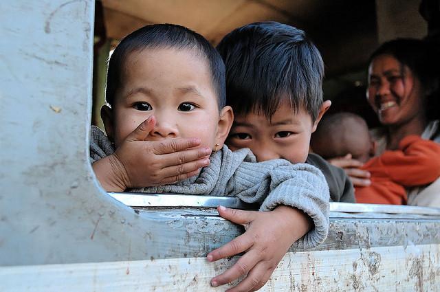 Burma, Burmese children