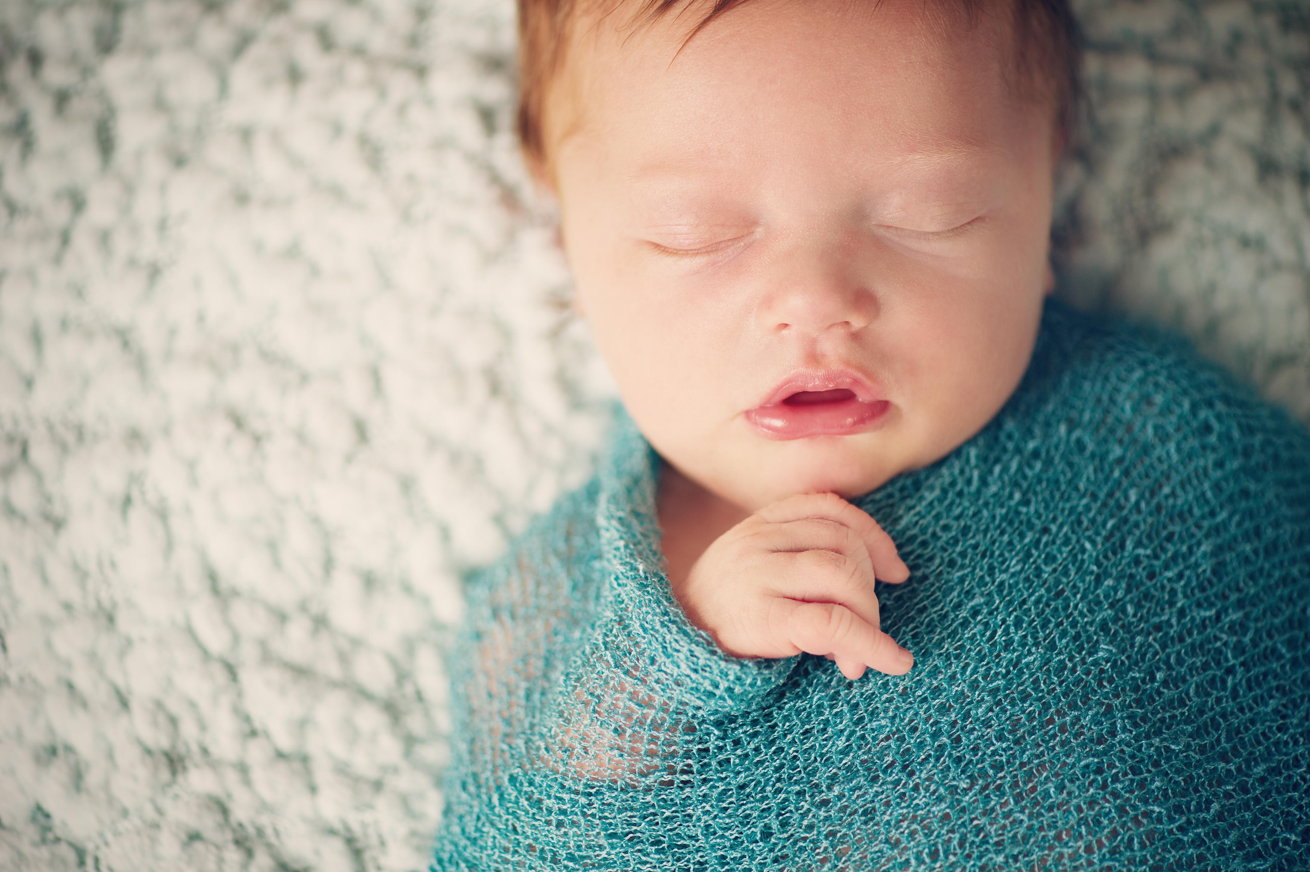 baby-teal-blanket