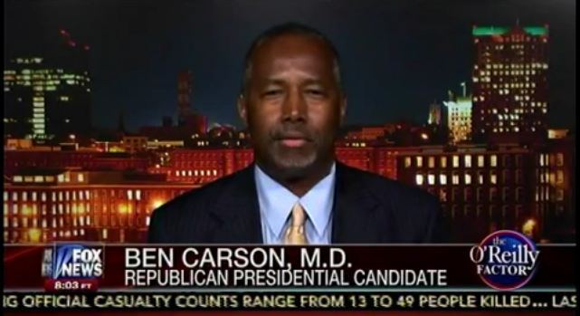 dr-ben-carson-black-lives-matter-abortion-planned-parenthood-oreilly