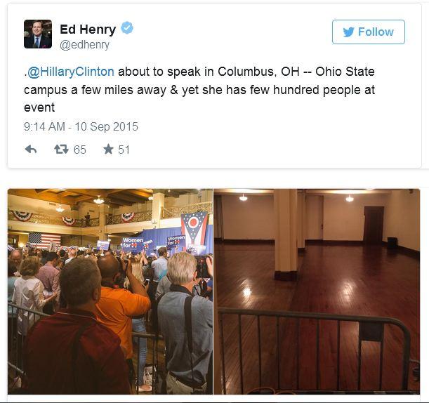 Ed Henry Hillary COlumbus