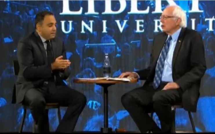 Liberty University Bernie Sanders abortion