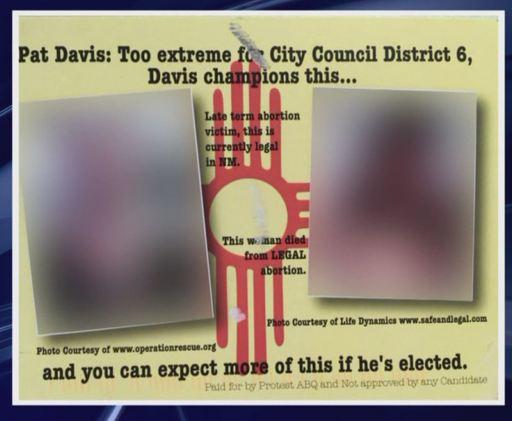 Pat Davis ABQ abortion
