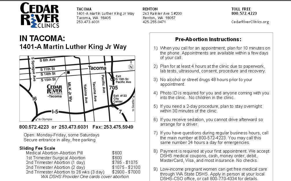 Cedar Rover abortion third trimester