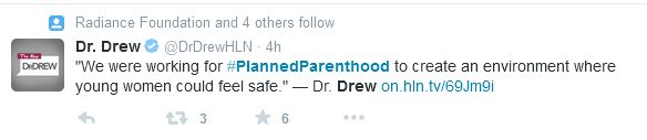 Dr Drew Planned Parenthood HLN