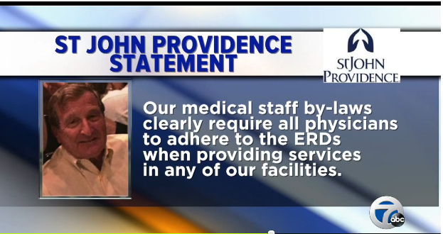 Michael Roth abortion Providence Hospital