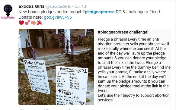Pledge a Phrase abortion