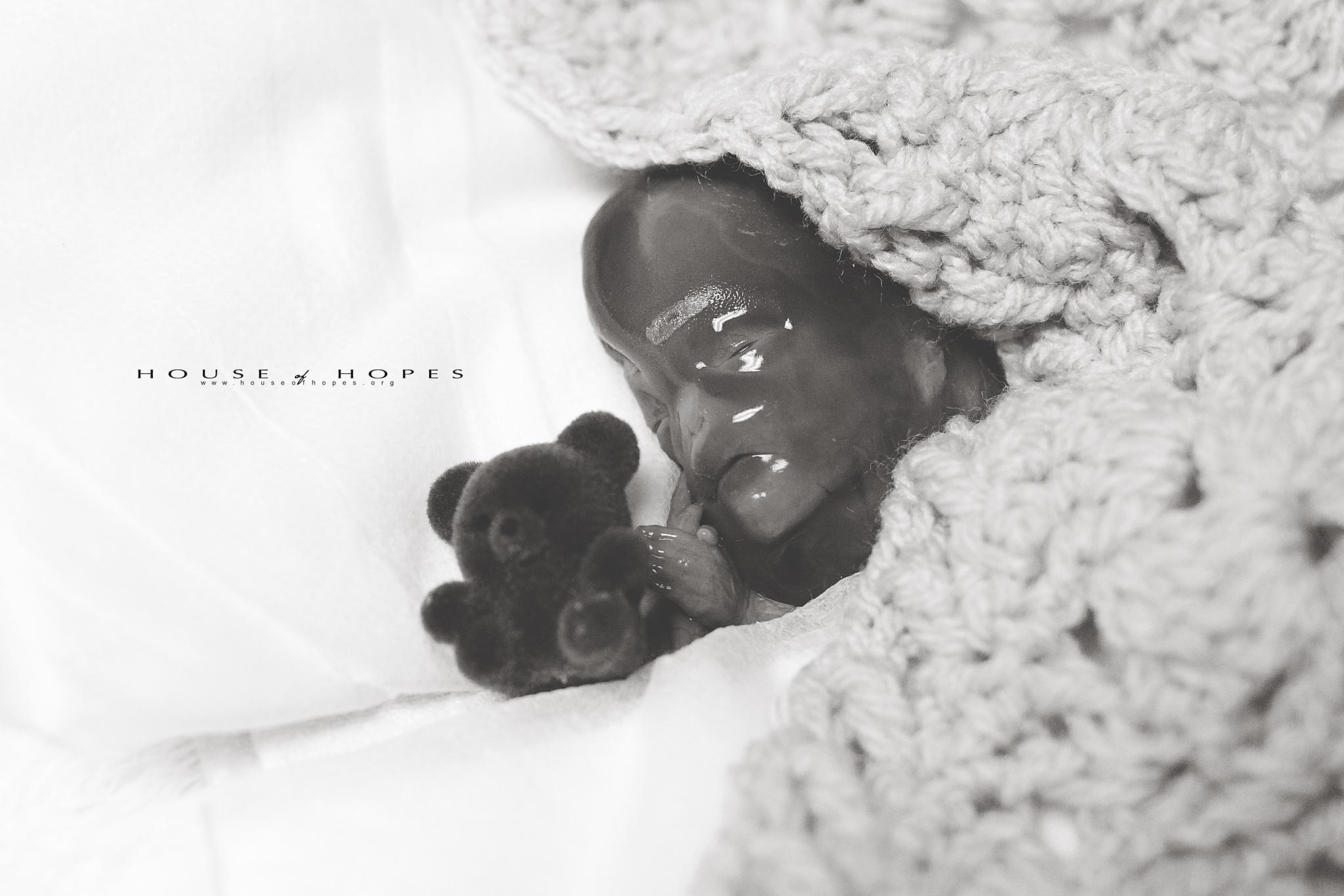Roman Stewart with bear