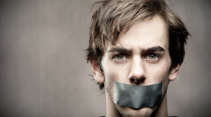 silent, speech, censorship
