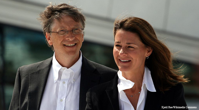 Bill Gates, Warren Buffett, Gates Foundation, population control