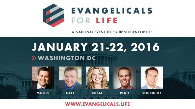 Evangelicals for Life Banner