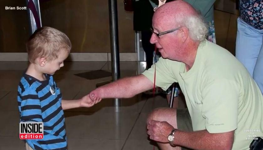 Kirill and Grandpa disability adoption