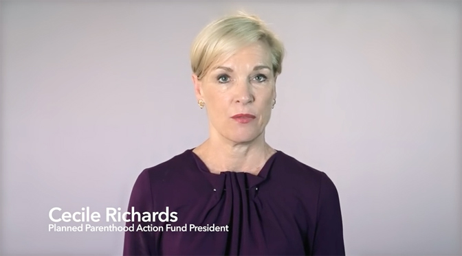 Cecile Richards, president of Planned Parenthood, aims to turn eight states into abortion havens.