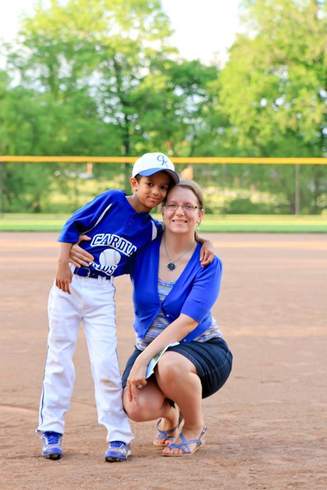 Angelina and Ben, choose life, abortion, pro-life, adoption, baseball