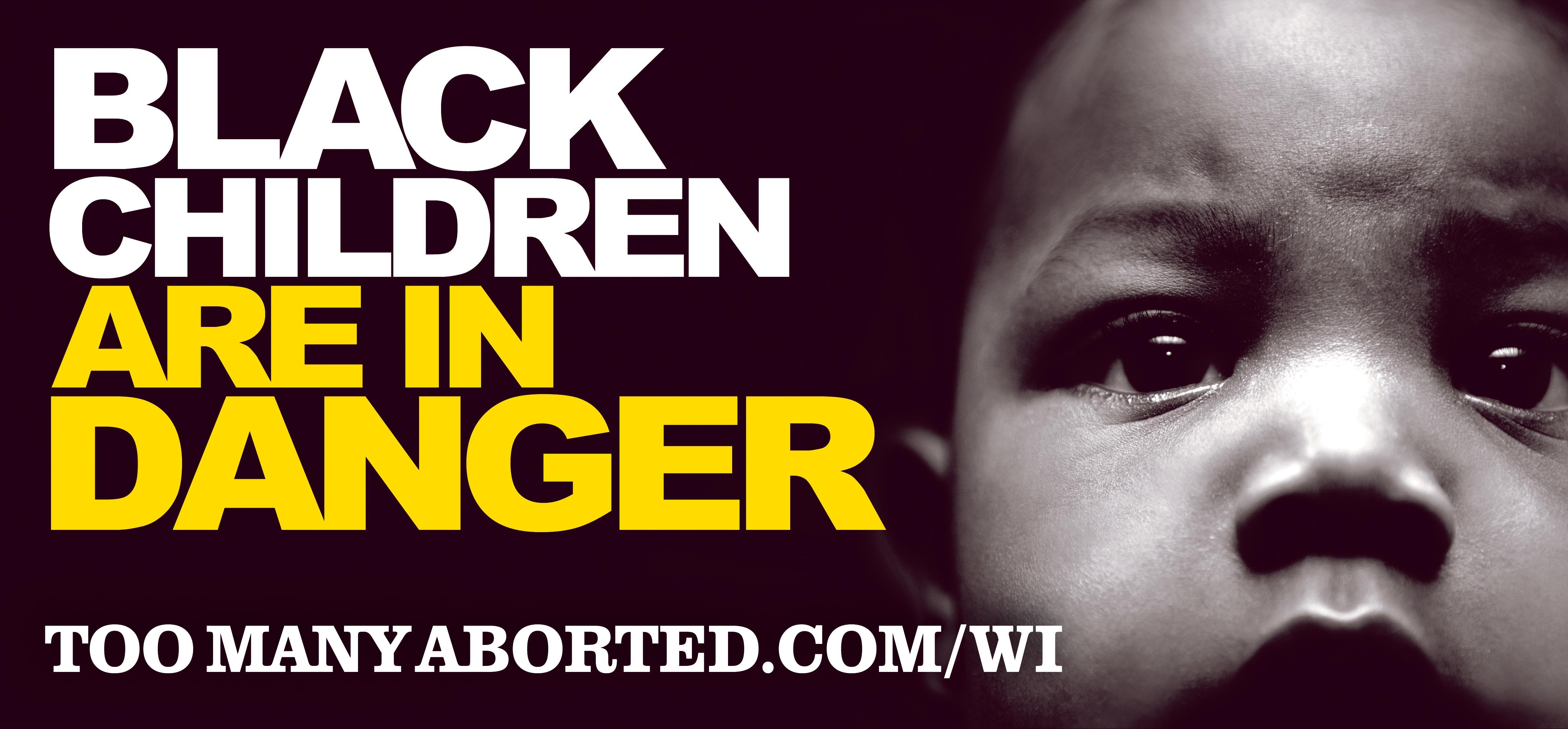 Black Children in Danger Billboard