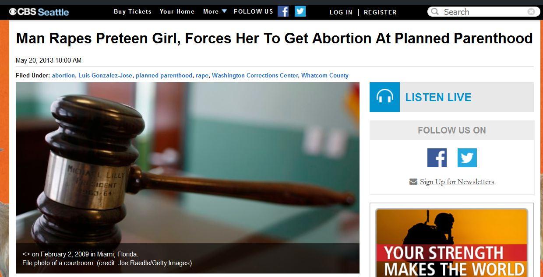 Luis GOnzalez Jose abortion planned parenthood