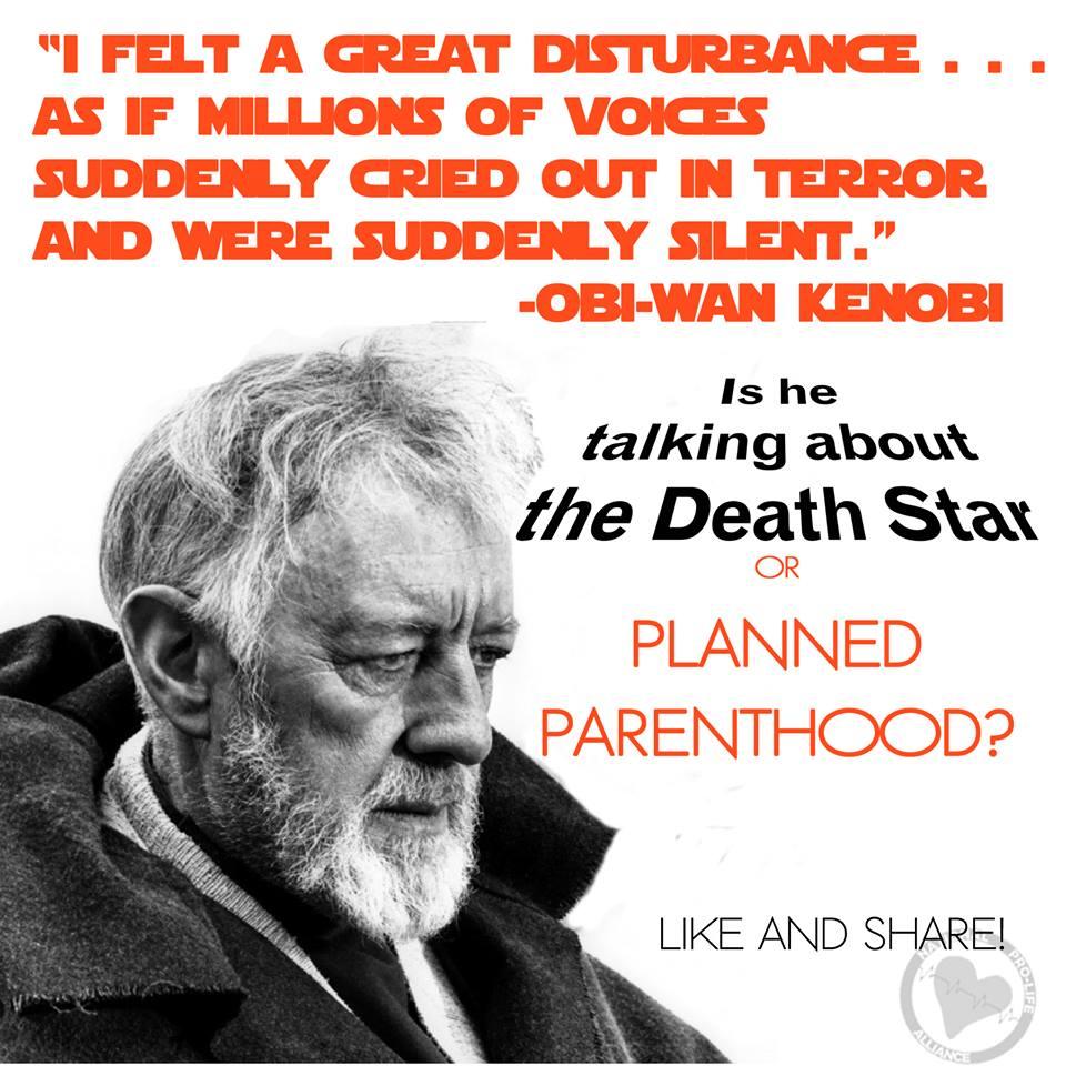 NPLA Obi-Wan Planned Parenthood Meme