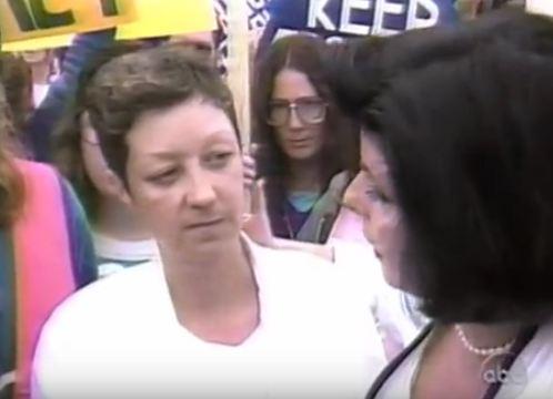 Norma McCorvey ABC News Screen